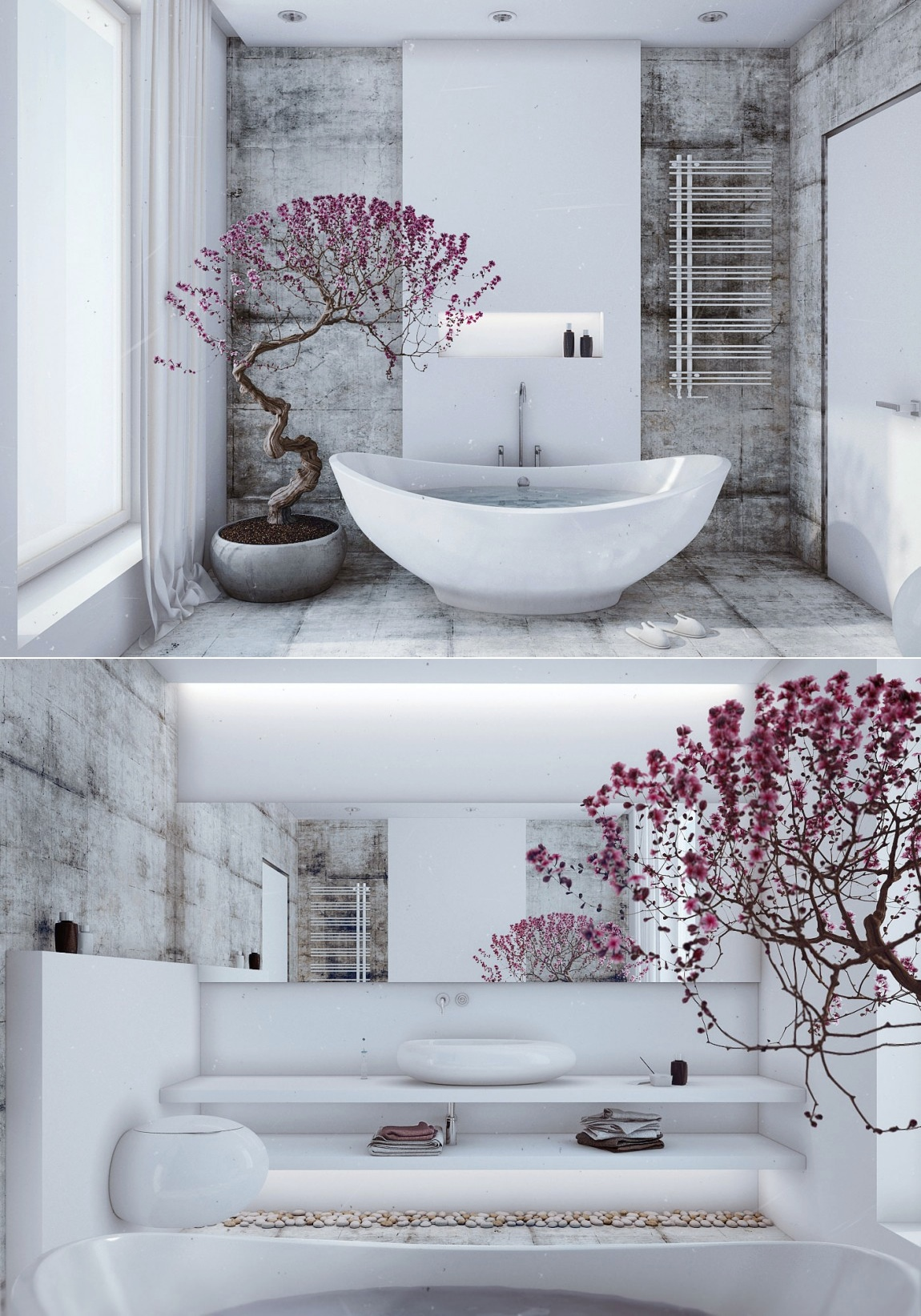 25 Peaceful Zen Bathroom Design Ideas Decoration Love