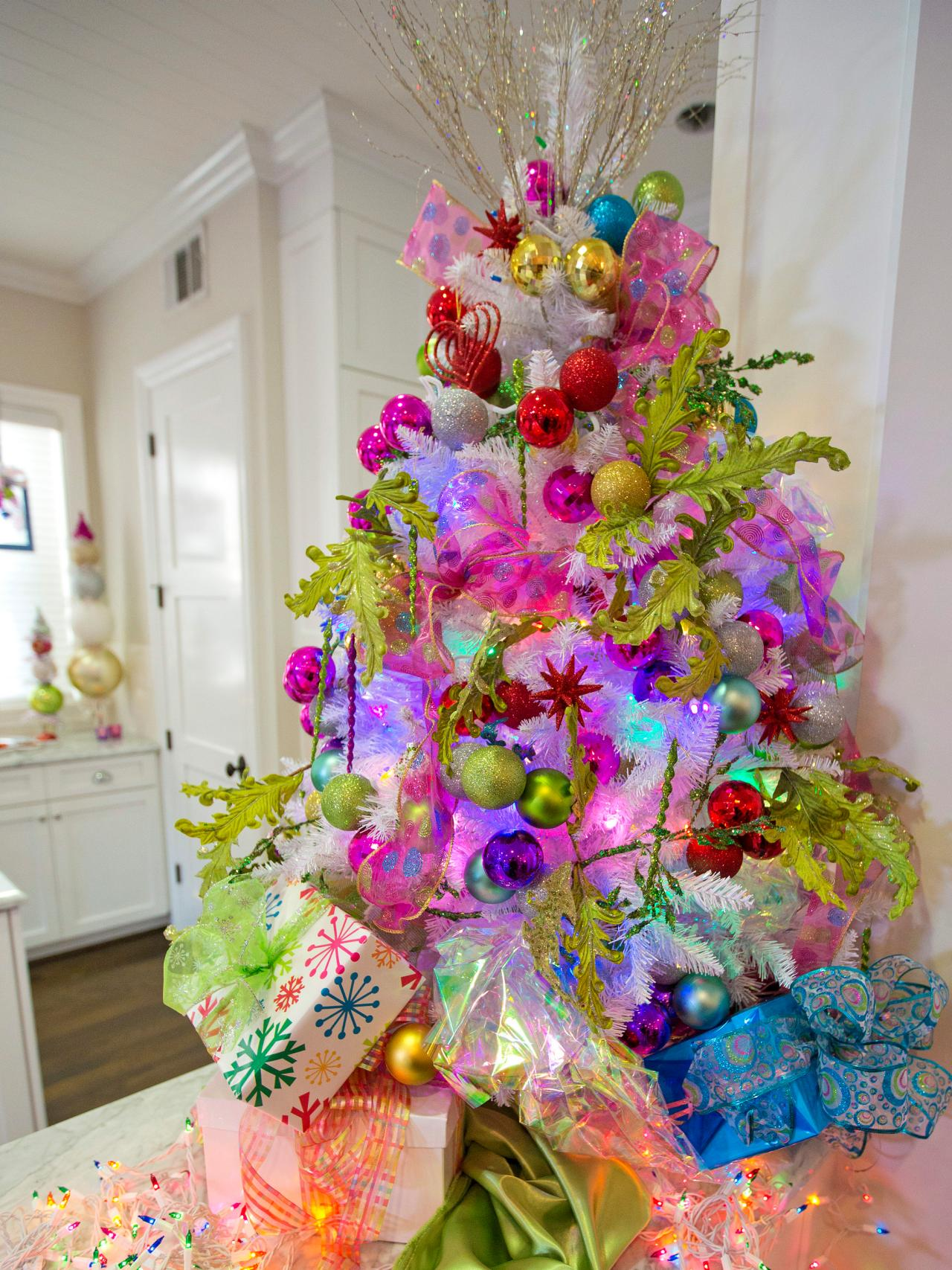 Colorful Christmas Tree Decorations.45 Colorful Christmas Tree Decorations Ideas Decoration Love