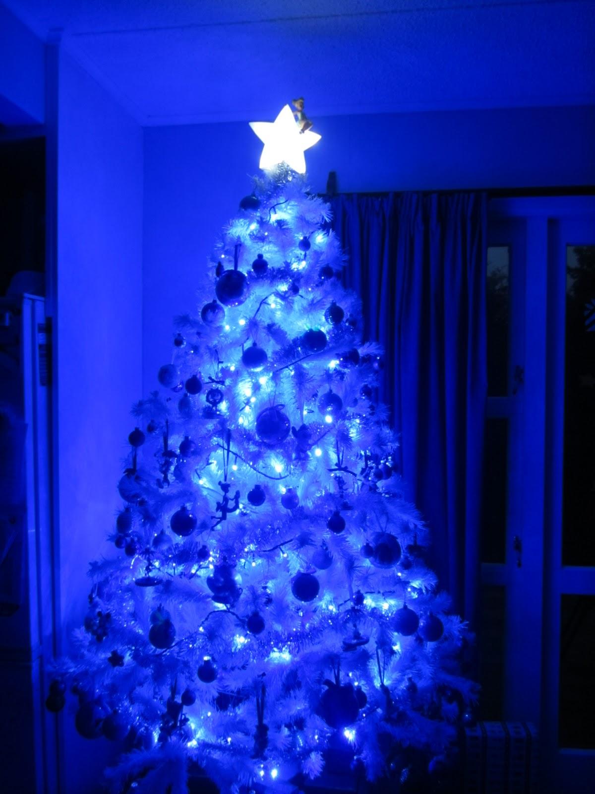 34 Blue Christmas Tree Decorations Ideas Decoration Love