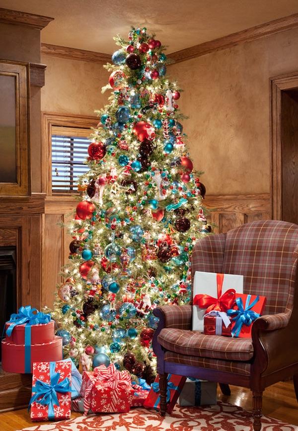 americana-christmas-tree-decor