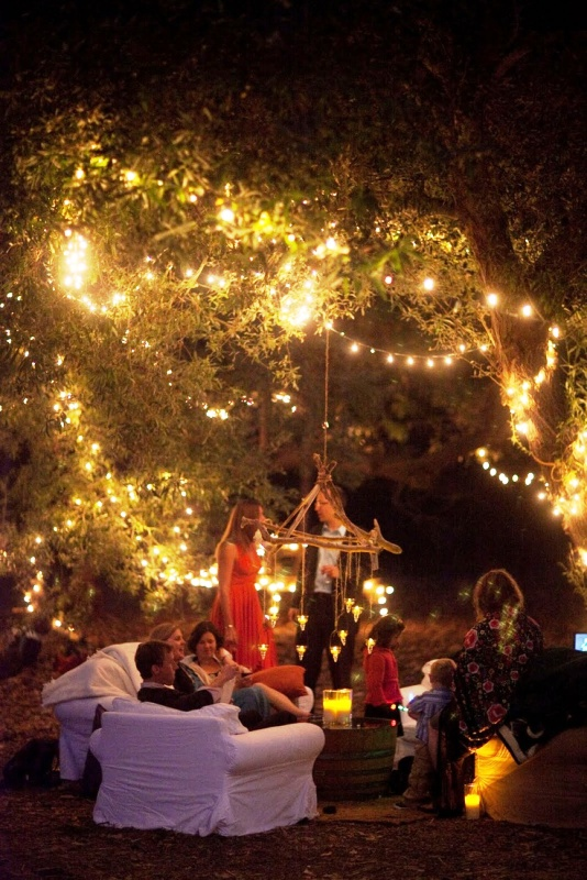 back-yard-fairy-lights-wedding