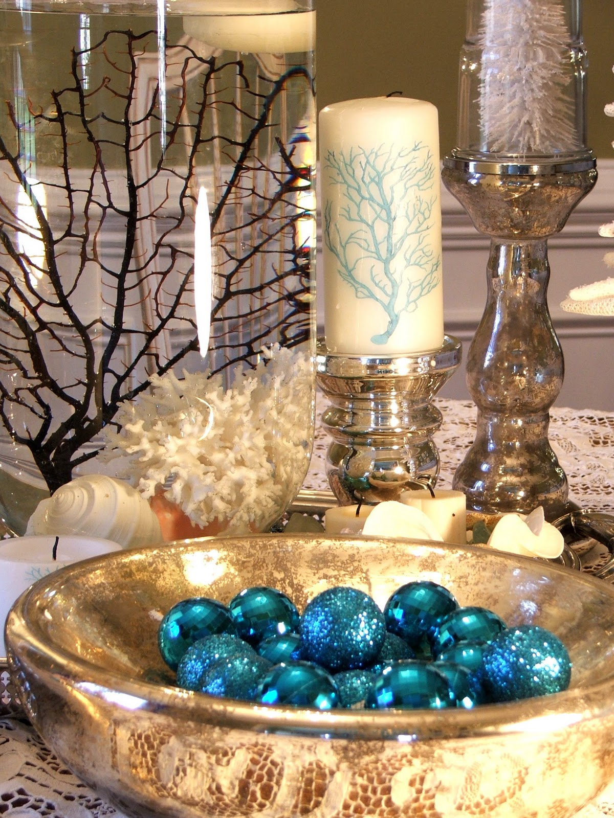 beach-christmas-table-decorations