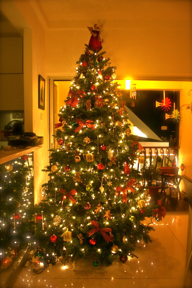 Beautiful decorated christmas trees - Buy christmas decorations online india ...