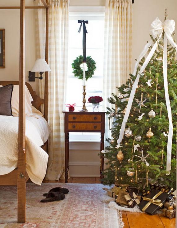 bedroom-christmas-tree-decoration