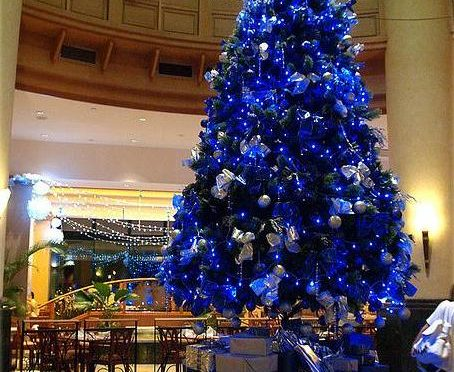 34 Blue Christmas Tree Decorations Ideas , Decoration Love