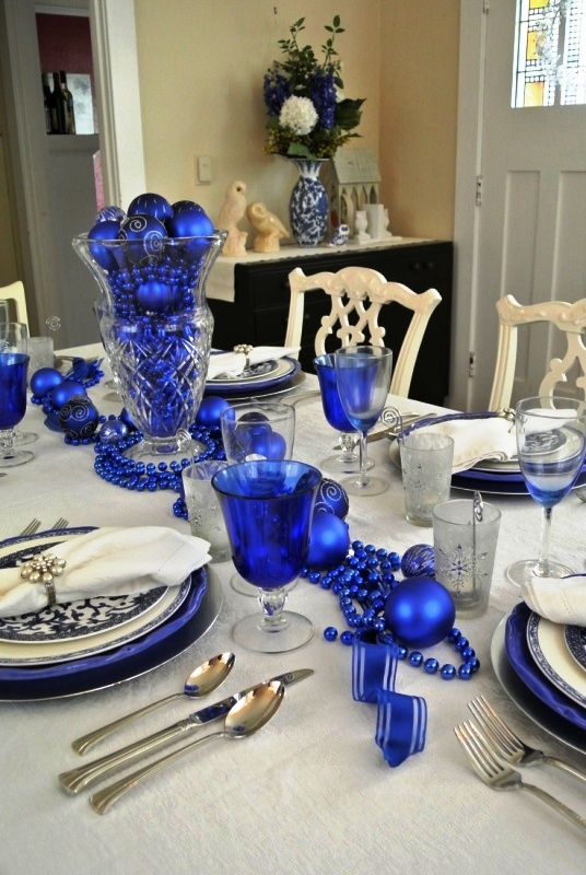 30 White And Blue Christmas Decorations Ideas Decoration