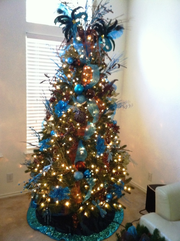 33 Turquoise Christmas Tree Decorations Ideas Decoration
