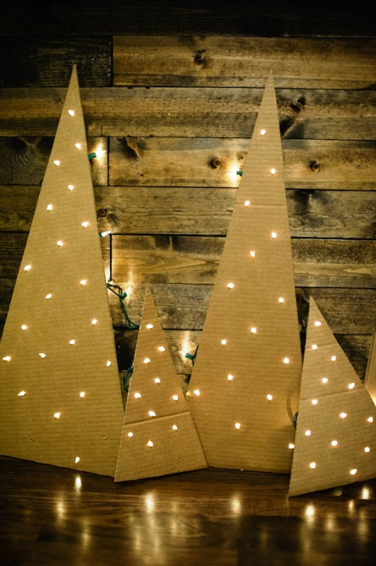 cardboard-christmas-trees-with-lights