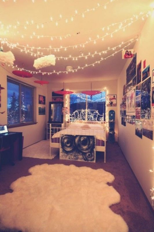 christmas-lights-bedroom-on-pinterest