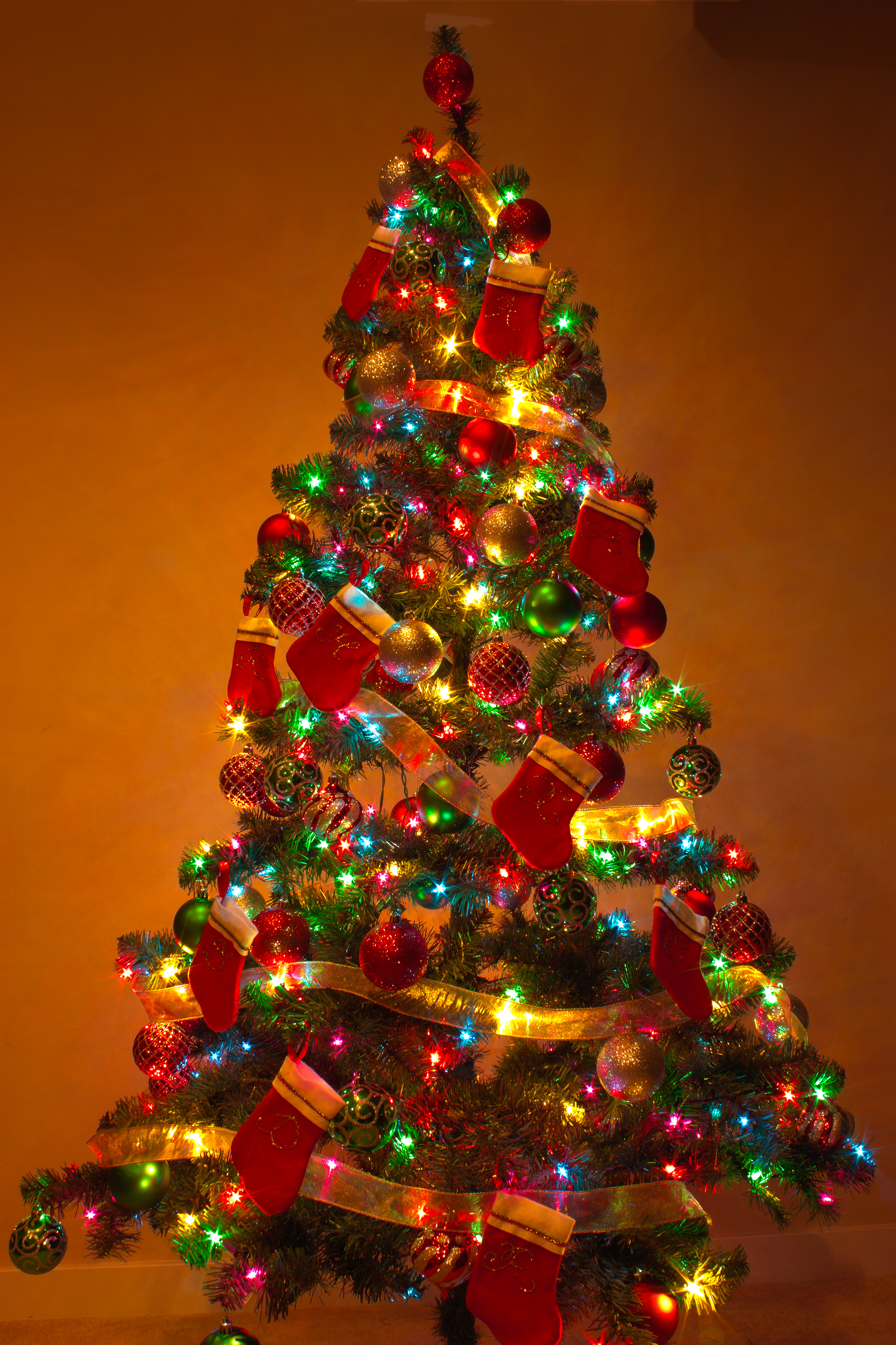 Colorful Christmas Tree Ideas.45 Colorful Christmas Tree Decorations Ideas Decoration Love