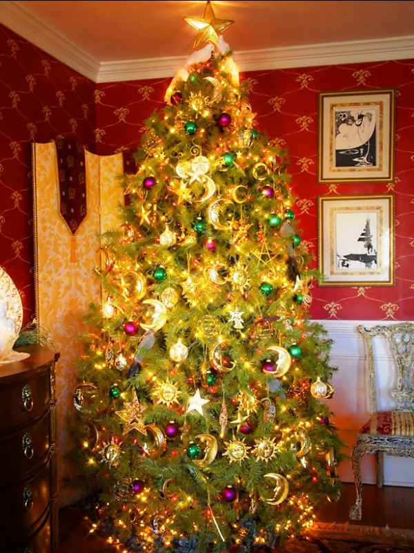 christmas-tree-decorating-traditional-ideas