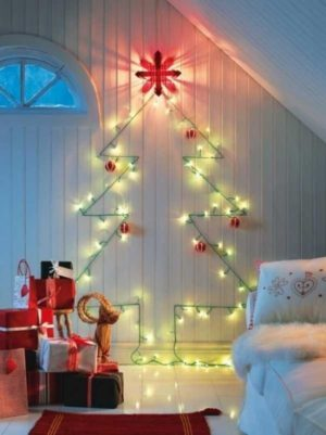 40 Attaractive Christmas Lights Decorations Ideas