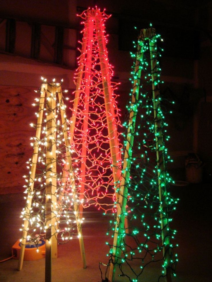 diy-outdoor-christmas-tree-lights