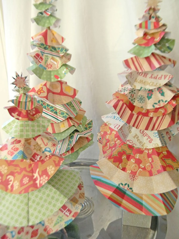 diy-paper-christmas-tree-decorations