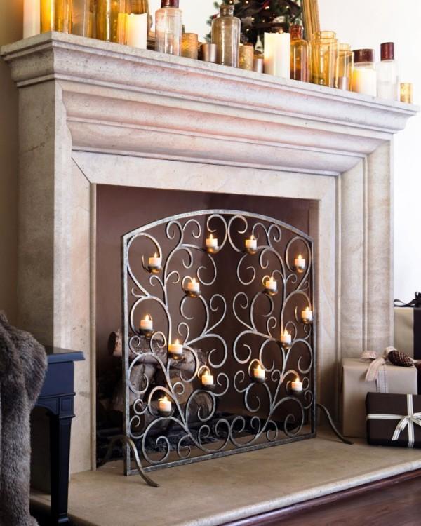 decorative-fireplace-candles