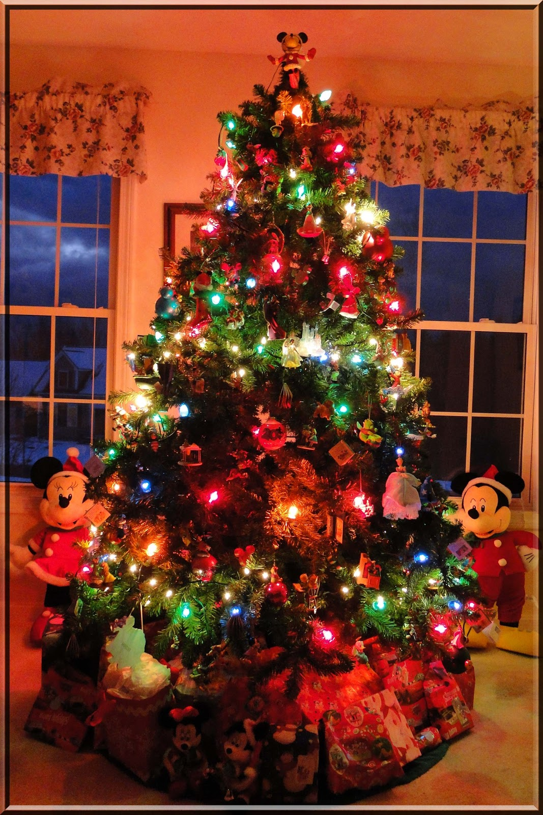 Disney christmas tree