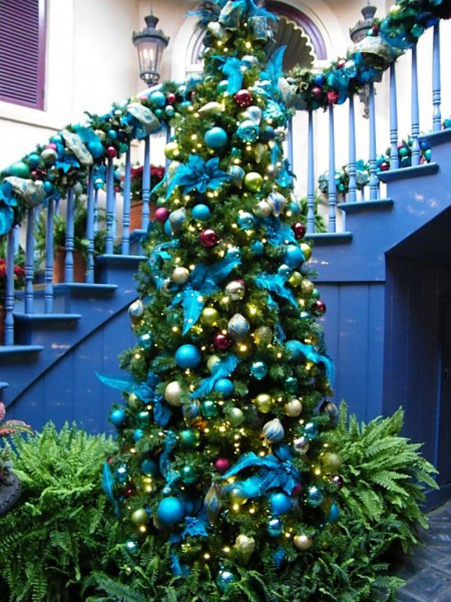 34 Blue Christmas Tree Decorations Ideas - Decoration Love