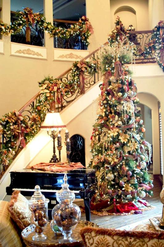 elegant-christmas-tree-decorations-ideas