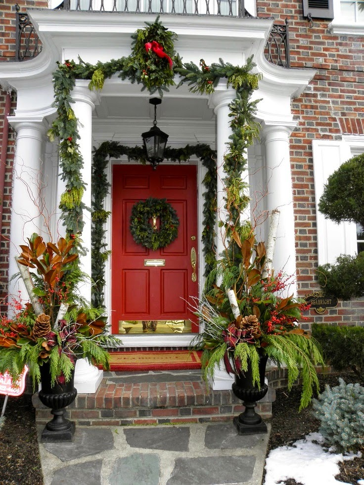 38 Christmas Decorating Ideas For Your Porch Decoration Love