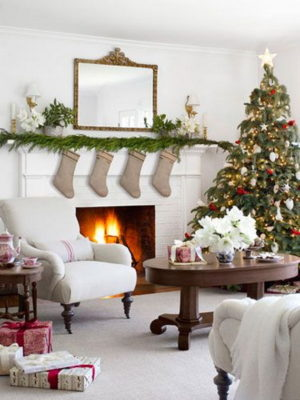 35 Country Christmas Tree Decorations Ideas