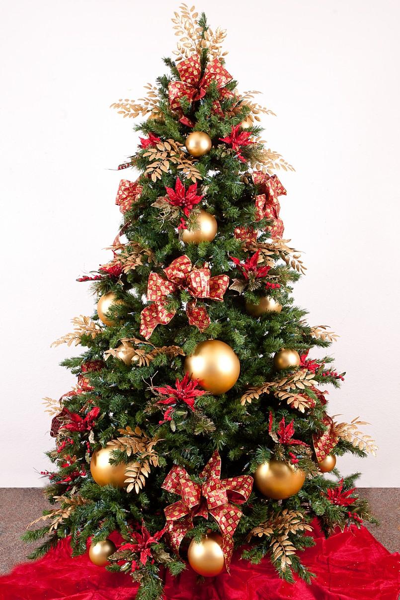 gold-christmas-tree-decoration