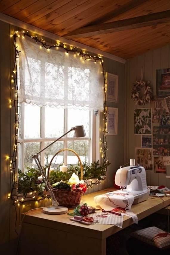 Top Indoor Christmas Lights Decoration Ideas