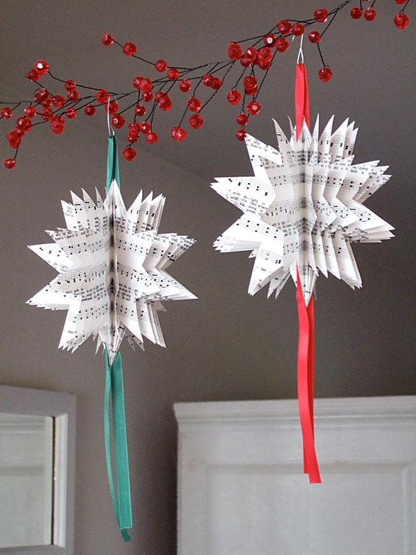 homemade-paper-christmas-tree-ornaments
