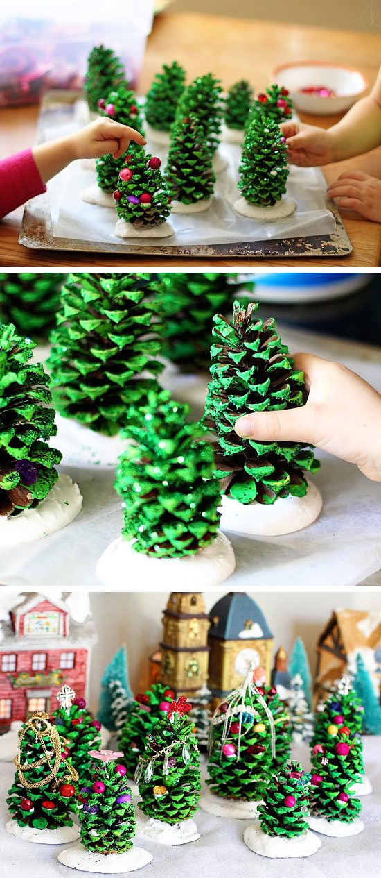 pine-cone-christmas-tree-craft