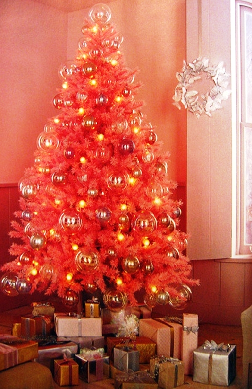 pink-christmas-tree-decorating-ideal-colours