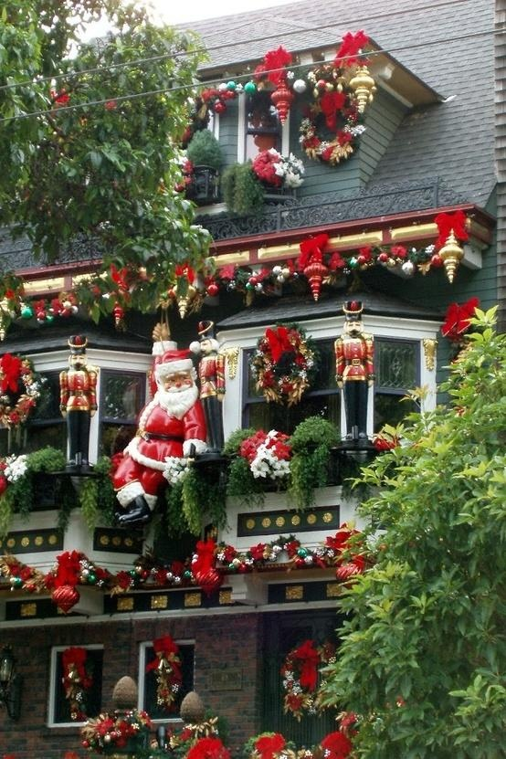36 Amazing Outdoor Christmas Decorations Ideas , Decoration Love