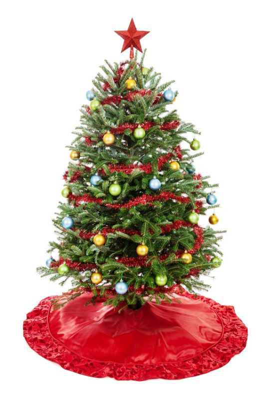 real-decorated-christmas-tree-design