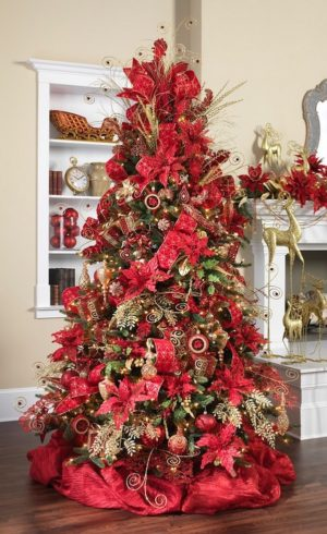 37 Christmas Decoration Ideas In All Shades Of Red