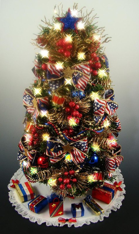 red-and-blue-decorated-christmas-trees