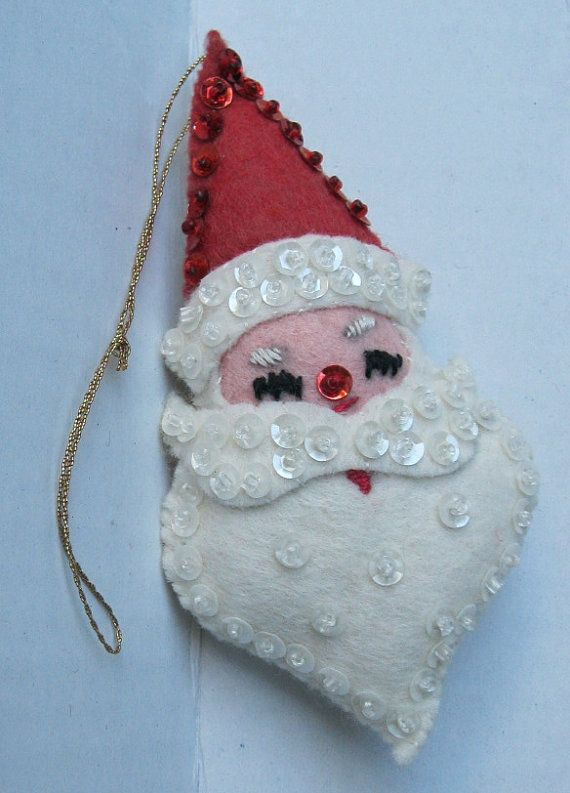 santa-felt-christmas-ornament