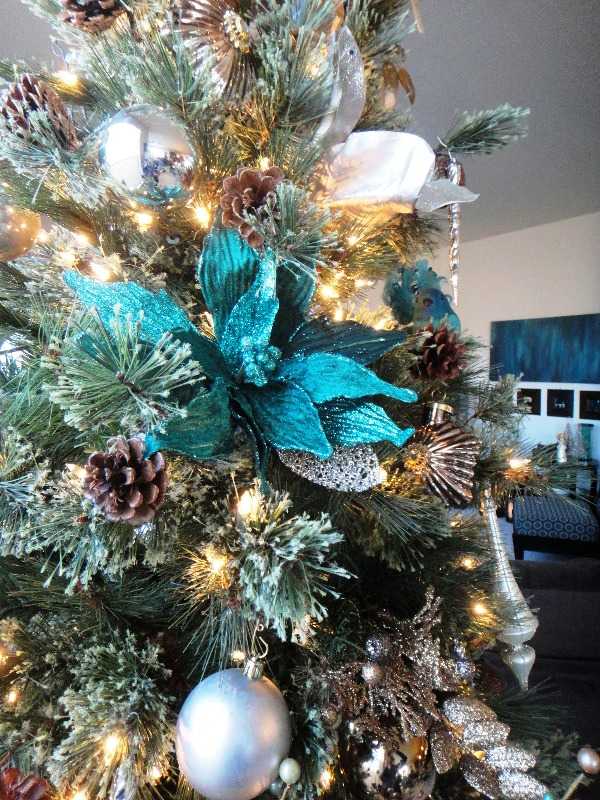 33 turquoise christmas tree decorations ideas