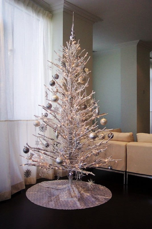 white-christmas-tree-ideas