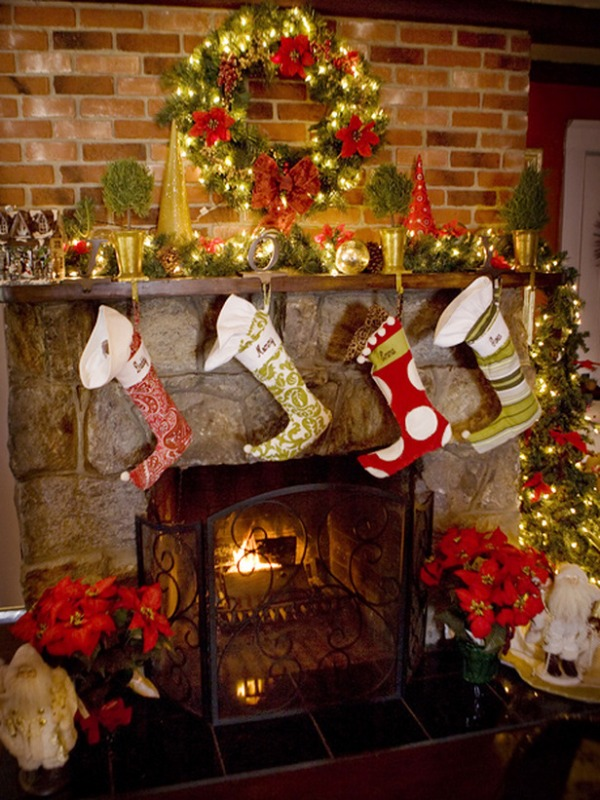 xmas-fireplace-mantels