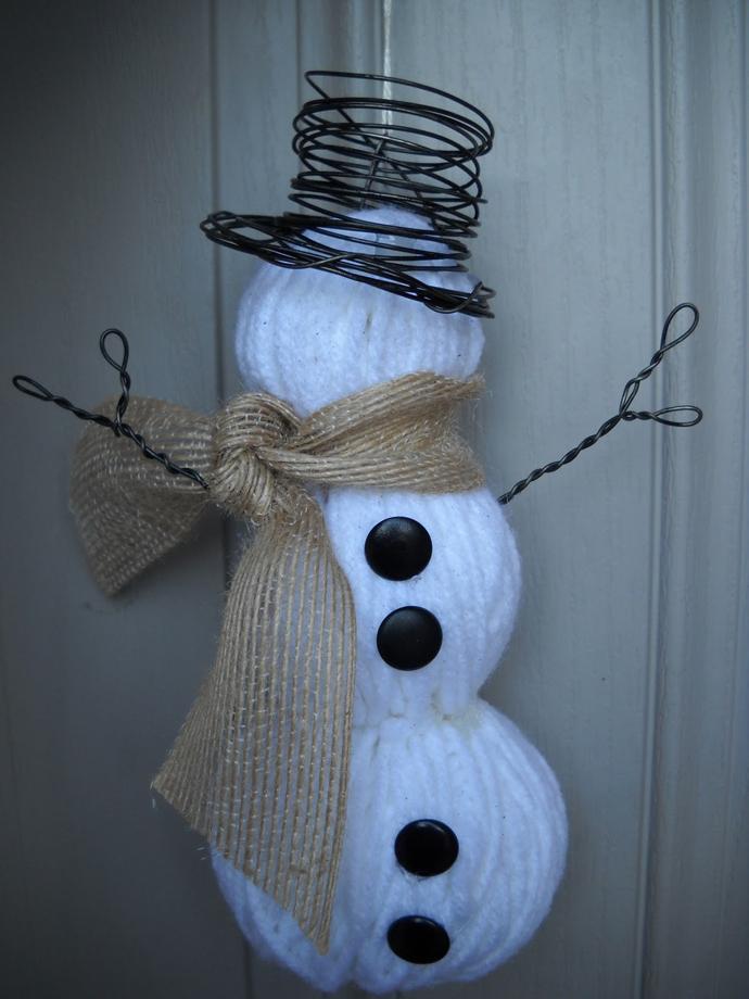 yarn-snowman-craft