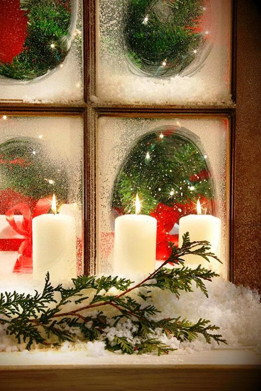 christmas-window-candles-ideas