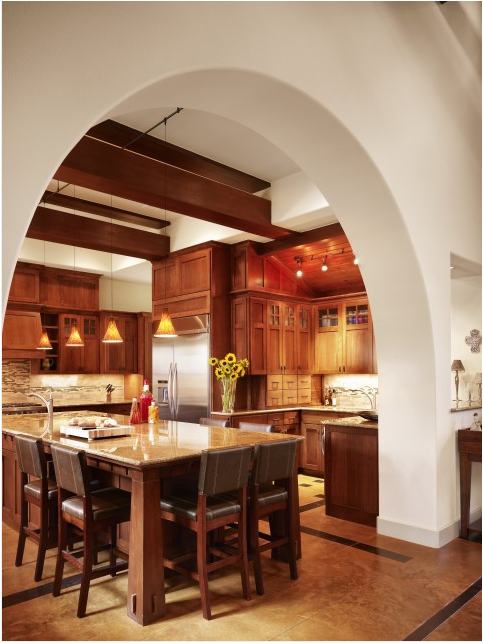 Arts and Crafts Kitchen Design