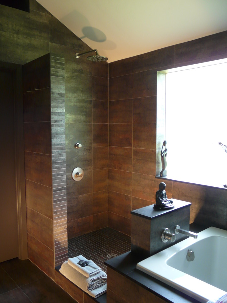 Asian Bathroom Design Statue Bath Fixtures