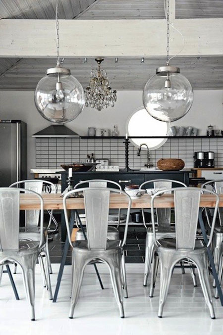 Industrial-Style Kitchen Chairs