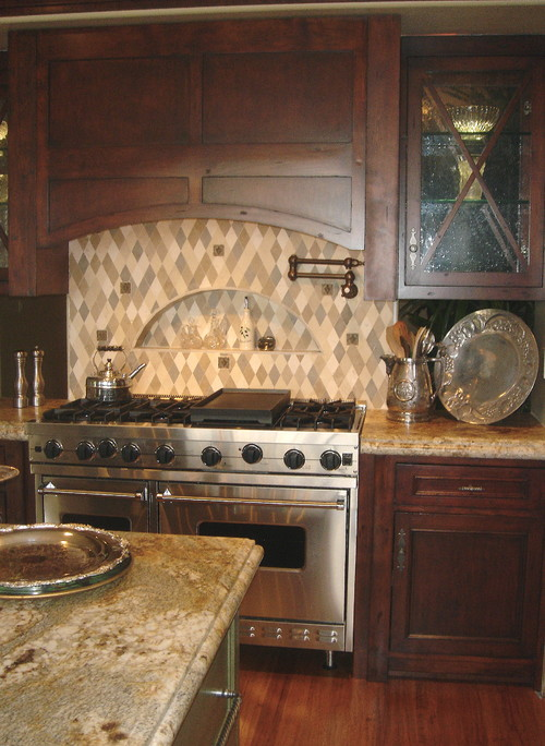 Mediterranean kitchens Art and color