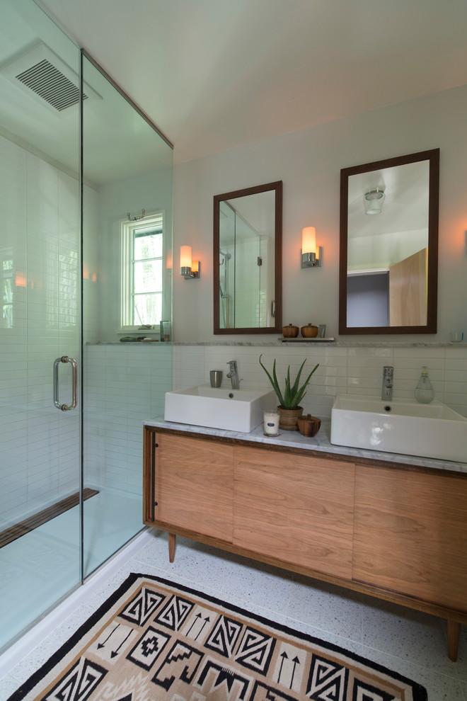 Midcentury Bathroom Vanity Design