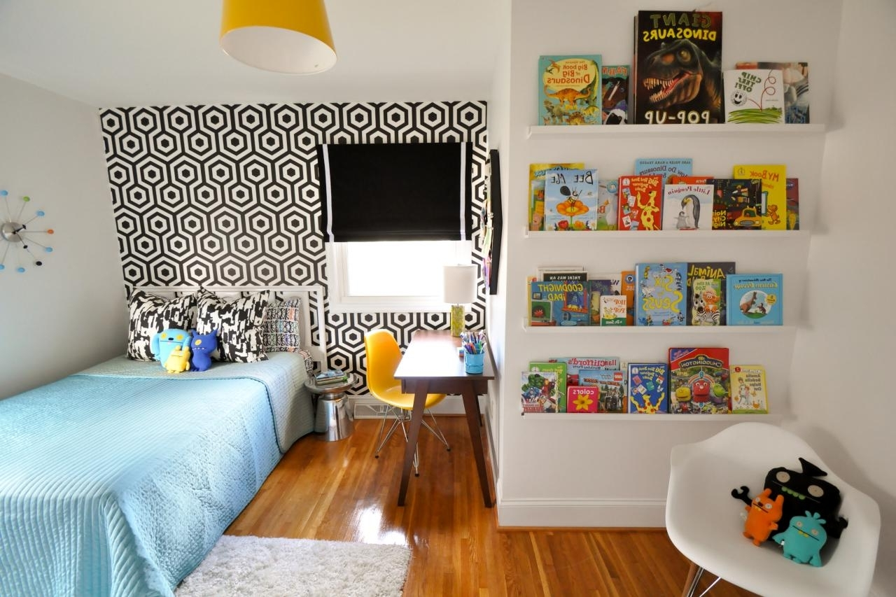Brilliant White Midcentury Modern Bedroom Photos Hgtv Throughout Modern Rooms For Kids - prehomes.co