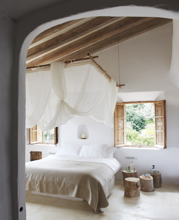 Awesome Rustic Bedroom Design
