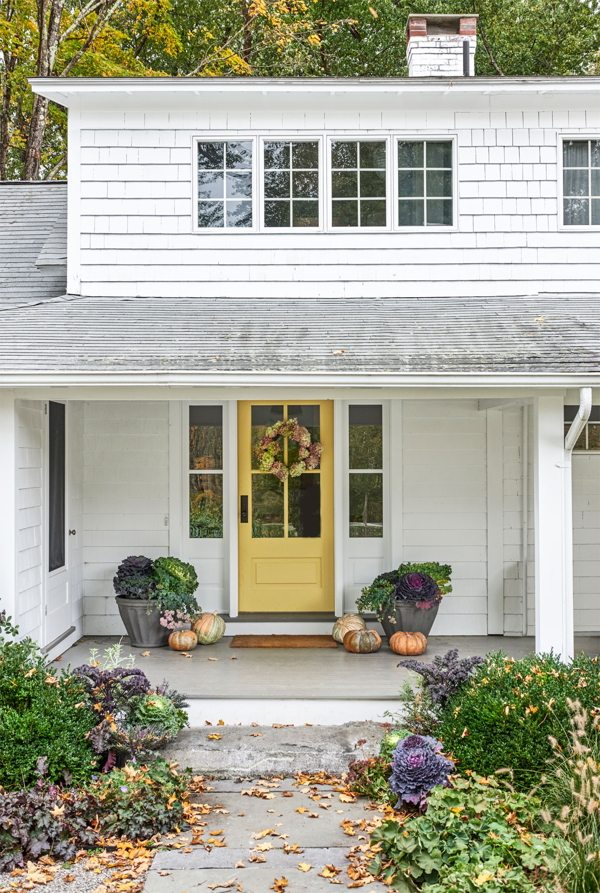 Connecticut Farmhouse Exterior Door Styles
