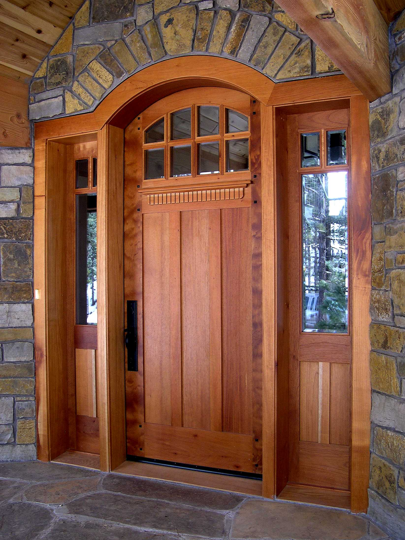 Craftsman Style Front Entry Doors Exterior Design