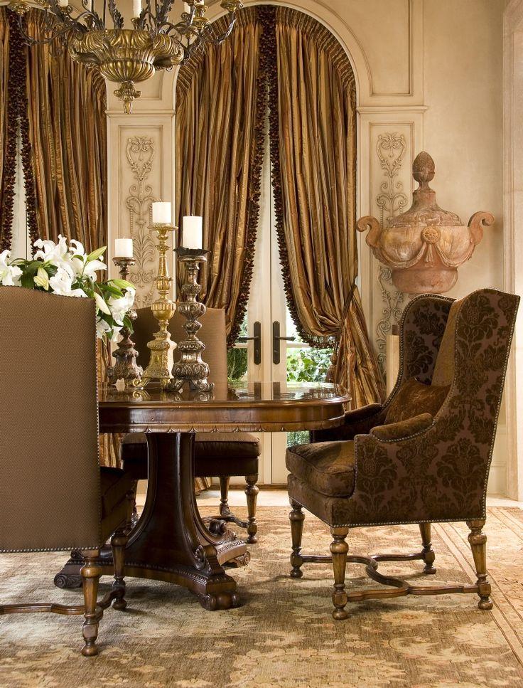 Elegant Victorian Dining Room Design 2016