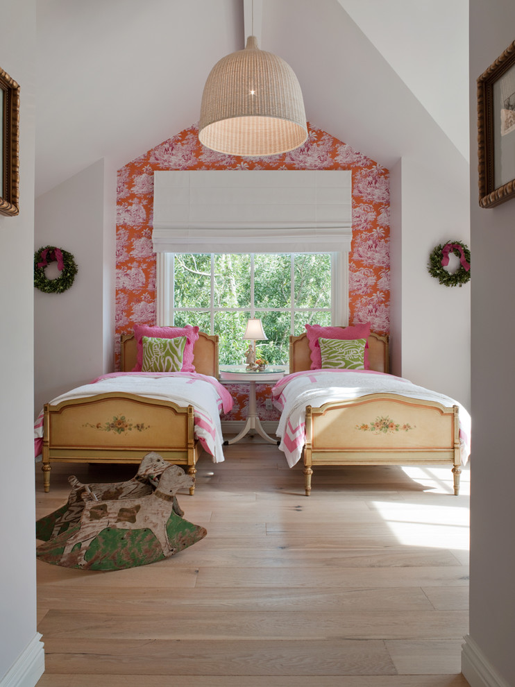 Farmhouse Kids Room Designs with Wide Plank Floors